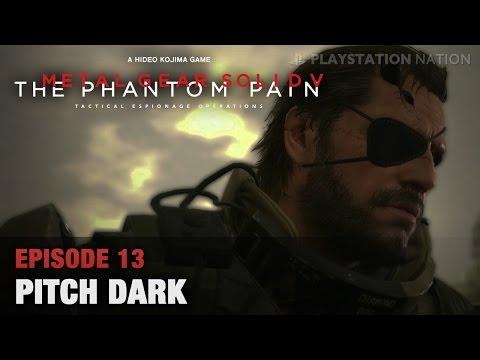 METAL GEAR SOLID V: THE PHANTOM PAIN - Walkthrough - Episode 13 - Pitch Dark [All Mission Tasks]