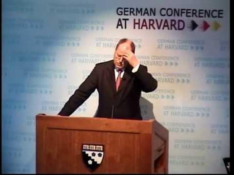 Peer Steinbrück (Euro Crisis) @ German Conference at Harvard 2012