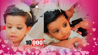 kaathonnu kutheett | ❤️ Kathu Kuthu 😘 Cute Baby Ear-piercing Video | 8 month old baby ear piercing