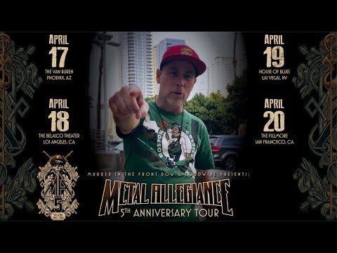 METAL ALLEGIANCE - 5th Anniversary Tour John Bush Invite (OFFICIAL TRAILER)