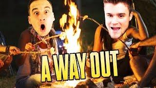 ROZPALAMY OGNISKO I BUDUJEMY SZAŁAS!   A Way Out [#5] (With: Dobrodziej)