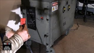 50-amp Anderson-style connector hard mounted into 24v large solar generator & a Channel shout out