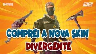 BUYING NEW SKIN DIVERGENT I SHOP UPDATE l FORTNITE BATTLE ROYALE AOVIVO