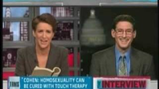 "Rachel Maddow Tears the ""Cure the Gays"" Guy A New One"