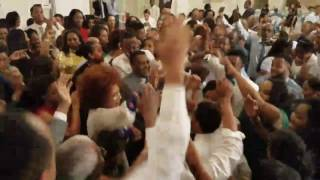 Ethiopian Wedding - Bride and Groom Singing Teddy Afro