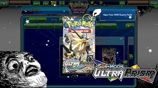 SEARCH FOR THE GOLD... OPENING ULTRA PRISM BOOSTER PACKS ONLINE!!