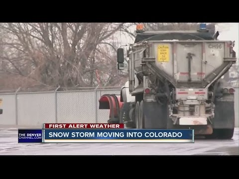 Biggest snowstorm of the season arrives in Colorado this Monday