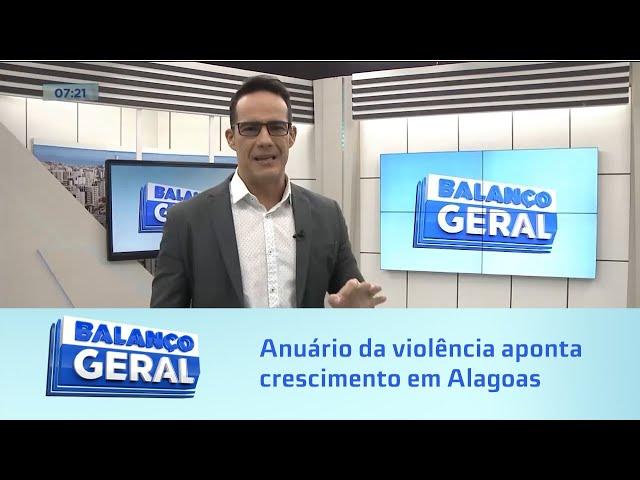 Anuário da violência aponta crescimento de 15% em Alagoas