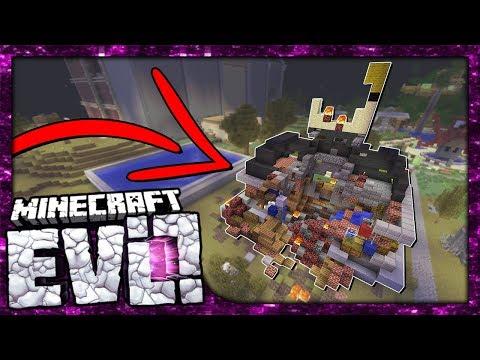 MAYOR\'S OFFICE DESTROYED! *METEOR CRASH* | Minecraft Evolution SMP | #70