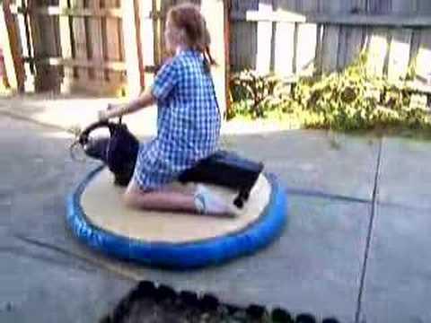 Home made hovercraft - YouTube