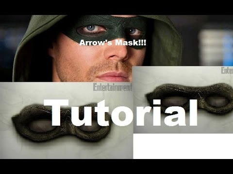 arrow cw mask tutorial seasons 2 3 4 youtube
