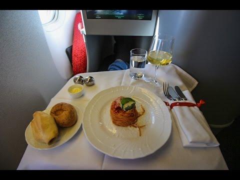 "Alitalia Boeing 777-200ER New ""Magnifica"" Class Inaugural flight Roma FCO to Havana HAV"
