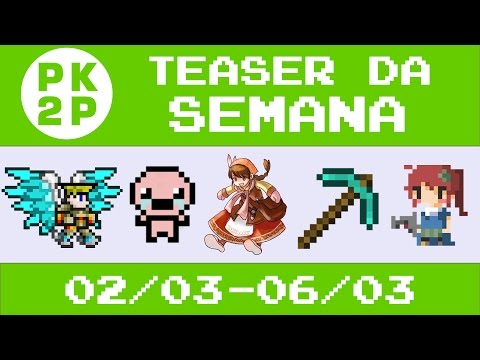 Teaser / Spoiler dos Vídeos da Semana • 02/03-06/03 • Canal Press Key to Play