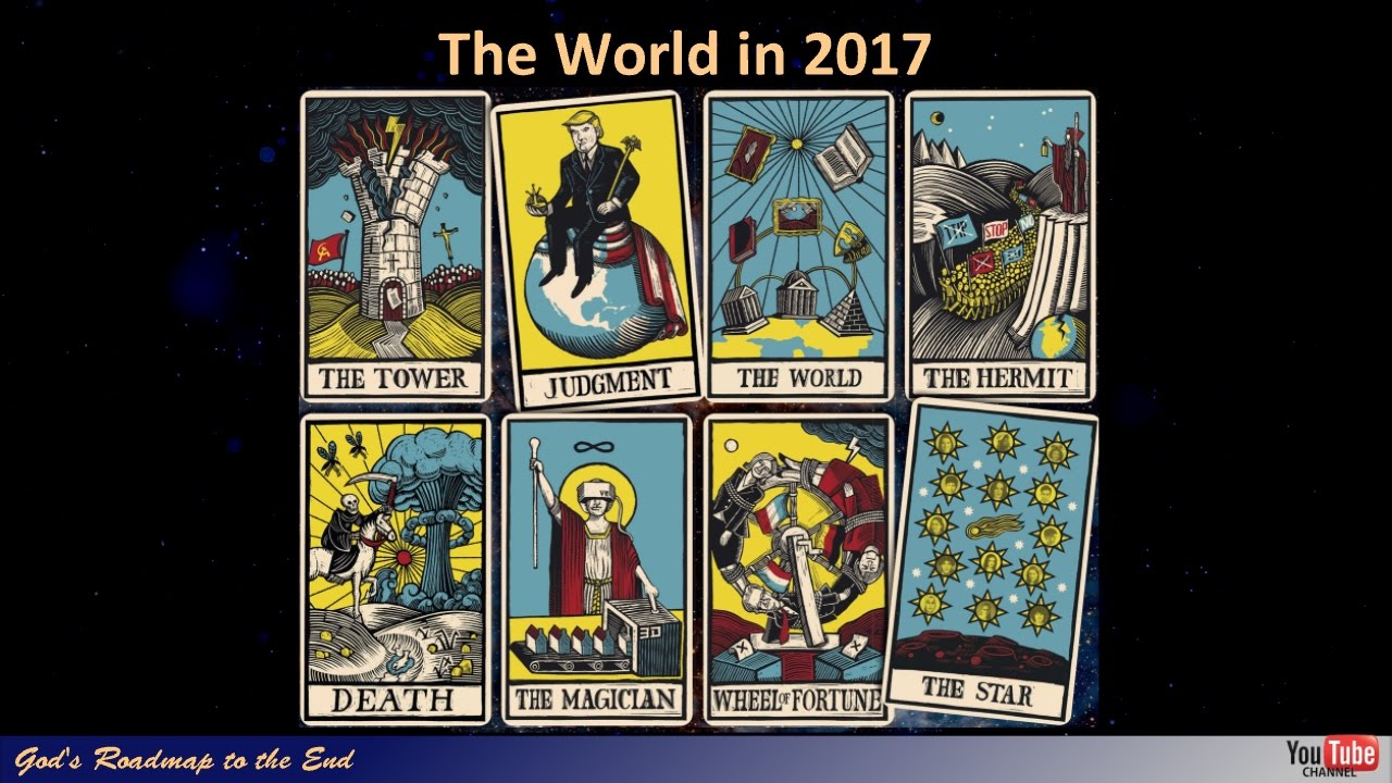 September 23, 2017 - Part 6: The World in 2017 - The Economist Front Cover Tarot Cards