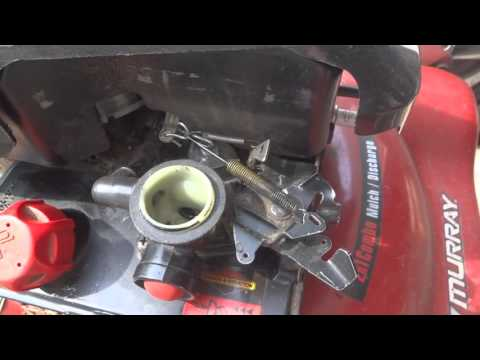 Briggs And Stratton 10T502 Carburetor Linkage YouTube