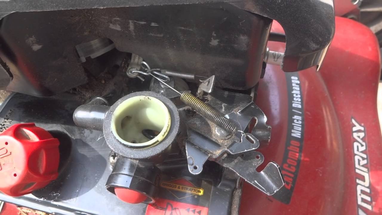 Briggs and Stratton 10T502 Carburetor Linkage YouTube