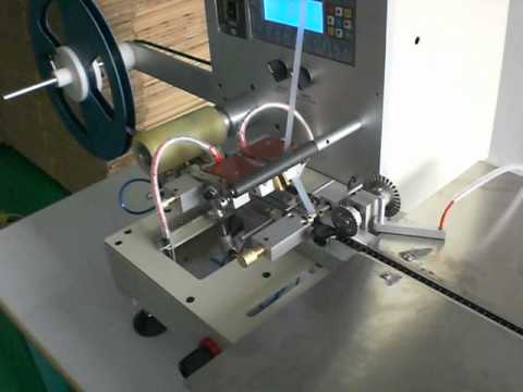 Semi Auto Smd Taping Machine Youtube