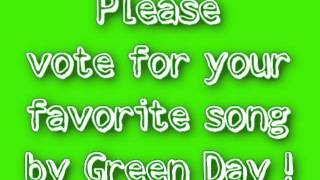 Green Day survey !!!PLEASE VOTE!!!
