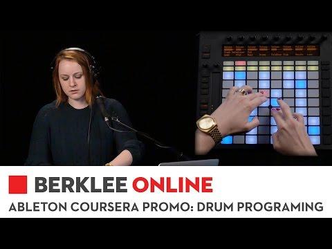 Berklee Online Ableton Coursera Course Promo: Drum Programming
