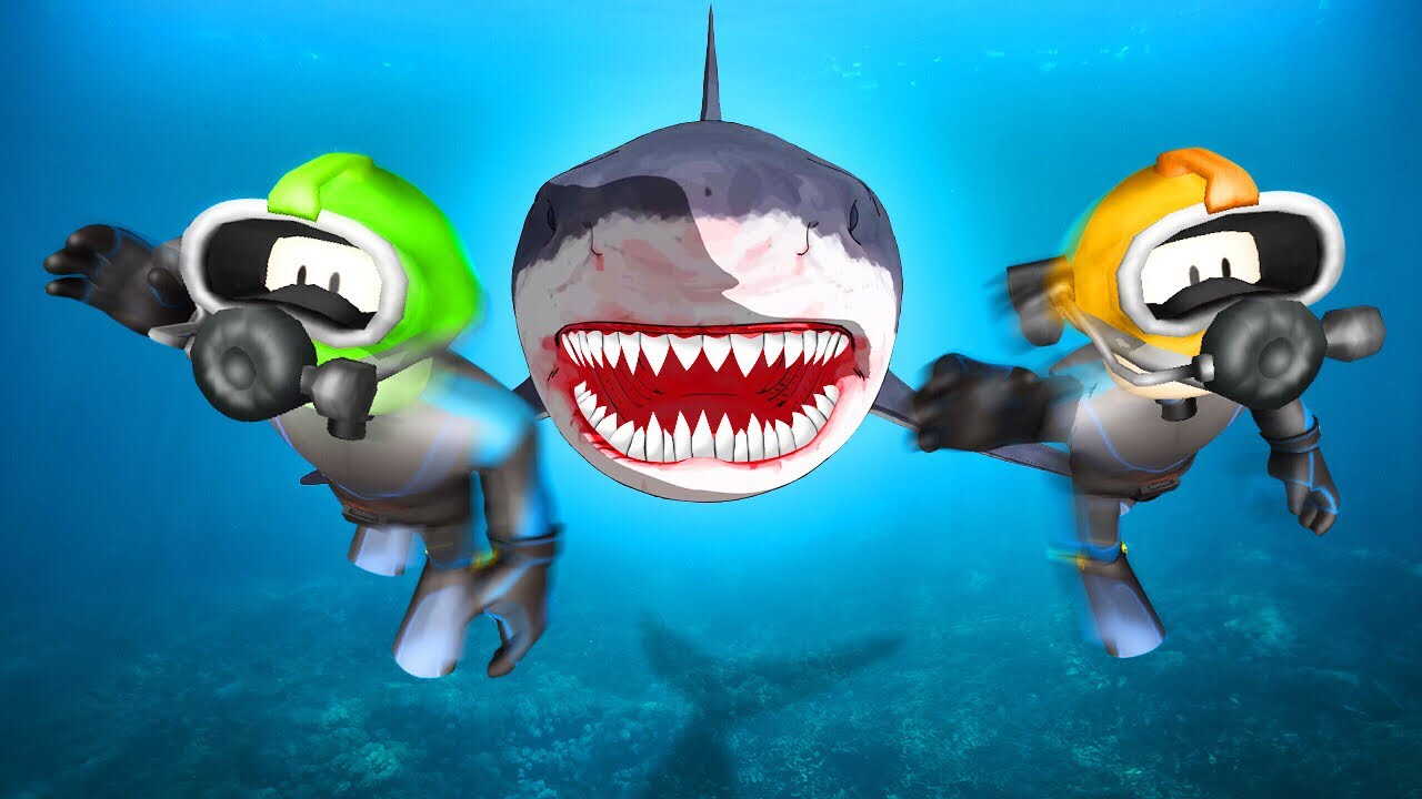 Extreme Roblox Shark Attack Youtube