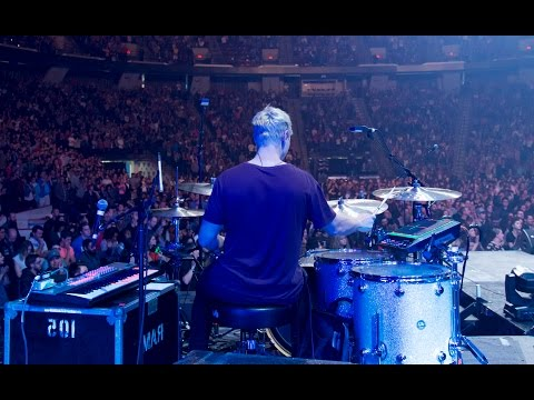 Forever Reign Hillsong  drum cam  2016 HD