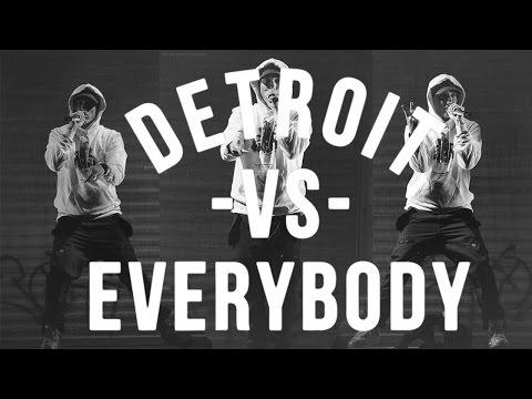 Detroit vs Everybody LIVE 2015 (Eminem Part)