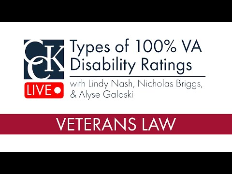 Types Of 100% VA Disability Ratings