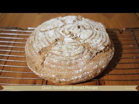 Quick Sourdough Bread Recipe : Sourdough Bread Recipe