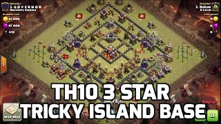 Clash of Clans: TH10 3 STAR ON ISLAND BASE - GOBOLALO POWER!!! | Mister Clash Gaming