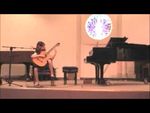 Etude No. 7, M. Carcasi performed by Ally Vanasco