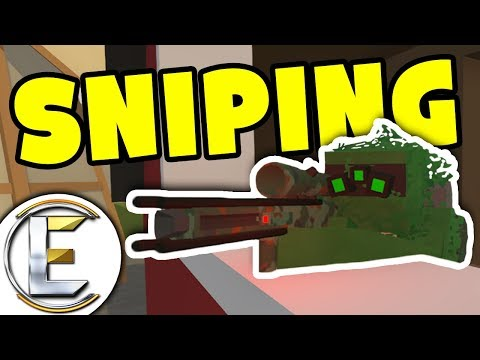 Sniping Shadowstalker FUN! | Unturned PVP Funny Moments (Unturned Russia)