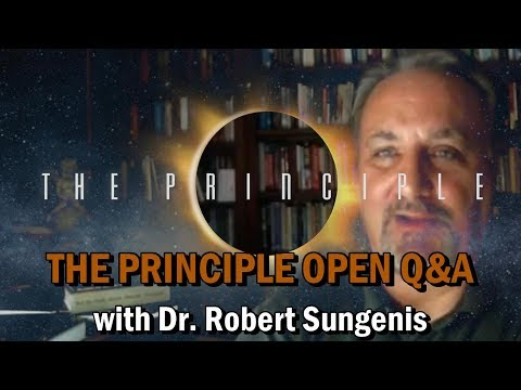 THE PRINCIPLE Open Q&A with Dr. Robert Sungenis - Sep. 19, 2019
