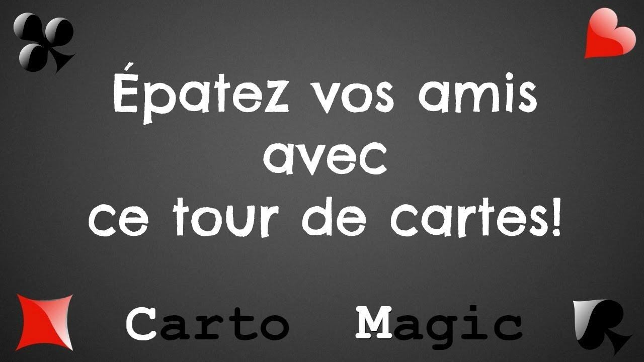 Tour de magie facile - La carte nombre (explication) - YouTube