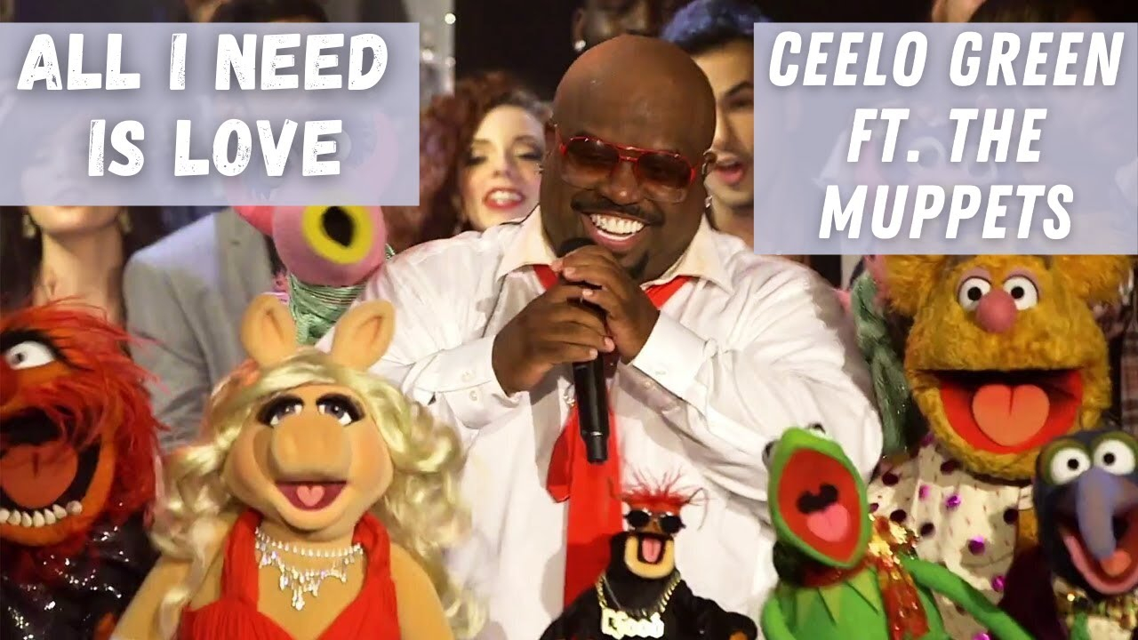 CeeLo Green feat The Muppets  All I Need Is Love Live  YouTube