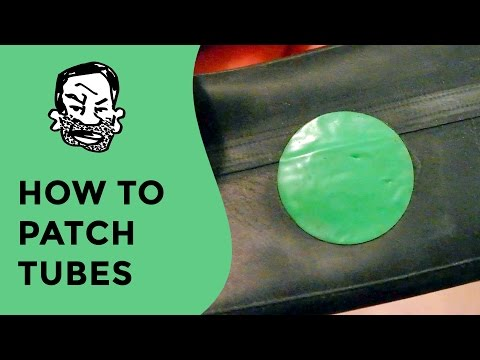 How to patch an inner tube - glueless