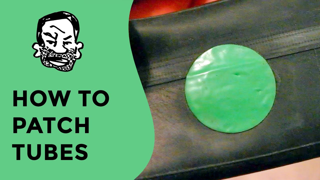 Jade Hsu Tubes Top how to patch an inner tube - glueless - youtube