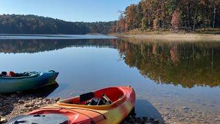 Kayak Camping - Br๐ken Bow Lake, Beavers Bend State Park in Oklahoma