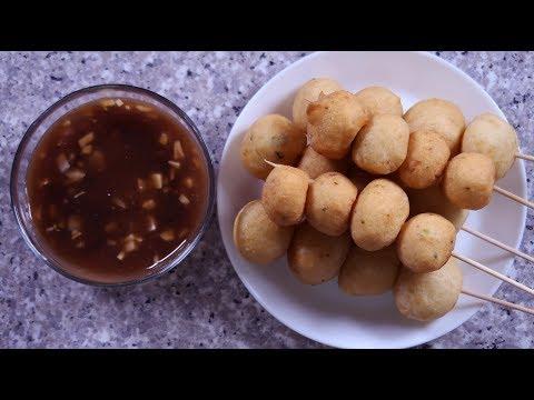 Homemade Fishball Recipe