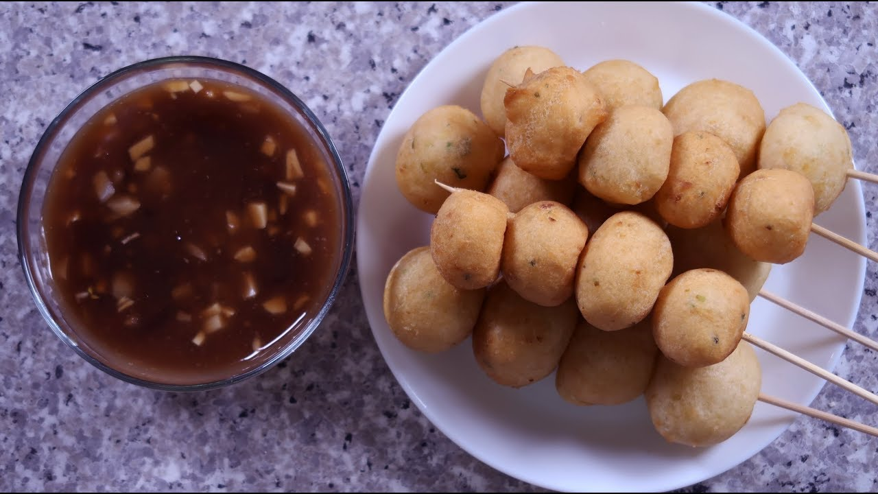 Homemade Fishball Recipe - YouTube