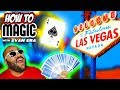 6 Magic Card Tricks in Las Vegas!