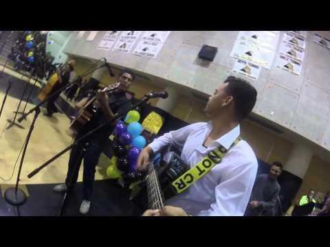 """Arroyo Valley High School Pep Rally -: """"Los Barrandales Del Puente""""/ """"Se Va Muriendo Mi Alma"""""""
