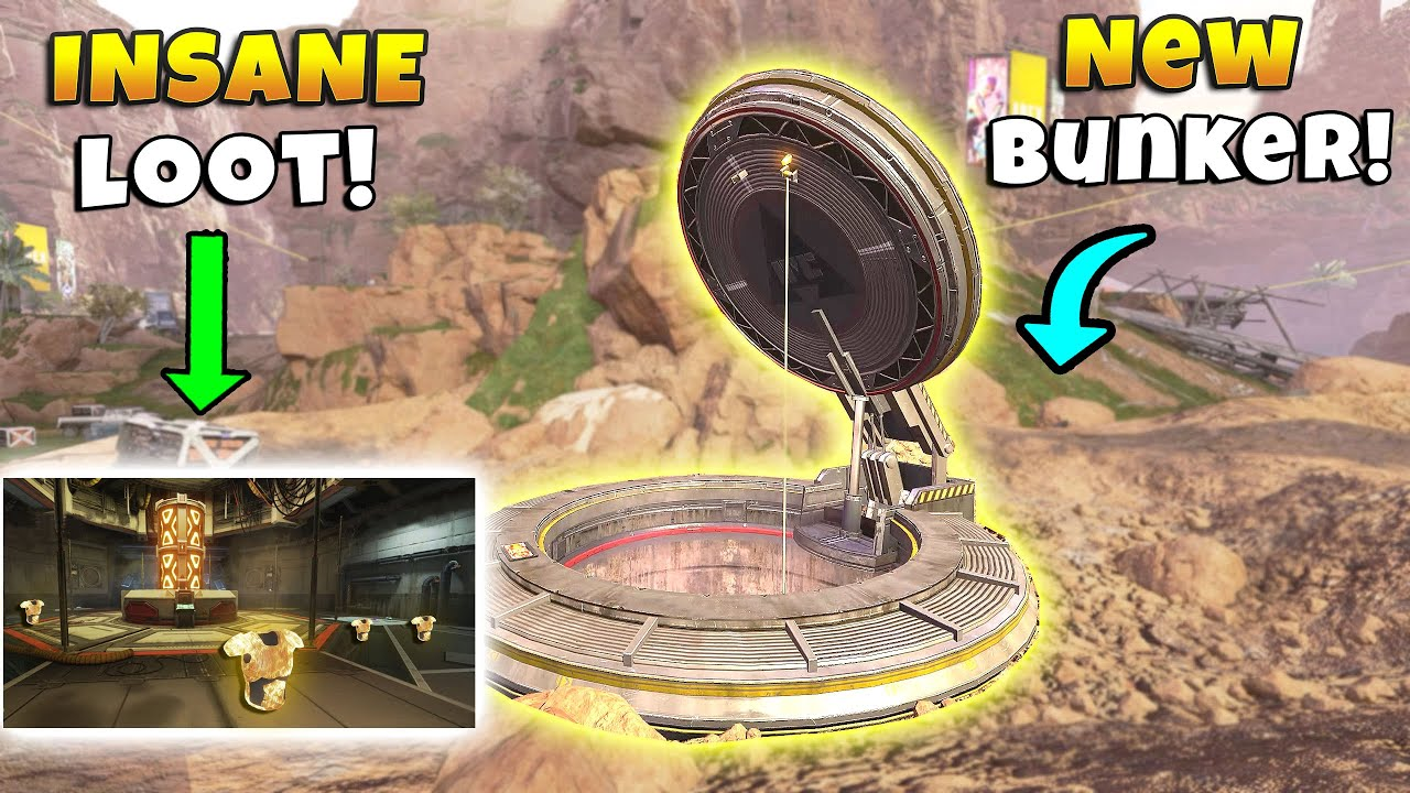 *NEW* BUNKER HAS OPENED! - NEW Apex Legends Funny & Epic Moments #356