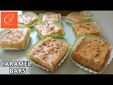 HOW TO MAKE CARAMEL BARS E33