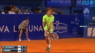 Bedene vs Cecchinato Umag R1 Highlights