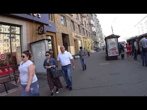 День в Москве. Земляной Вал. Атриум. ч.2