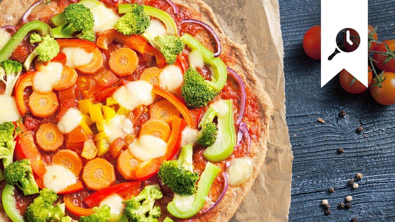 Schnelle Vollkorn Pizza Kinderleichtes Pizza Rezept Edeka Youtube