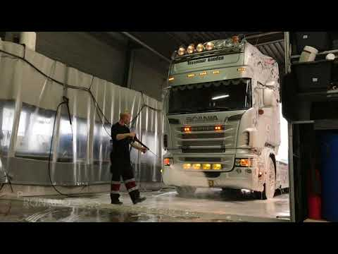 Scania Truck R500 Topline Non Contact Truckwash with ProNano Toucheless Nano Shampoo & Diamond Wax