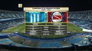 Racing Club vs Argentinos Juniors full match