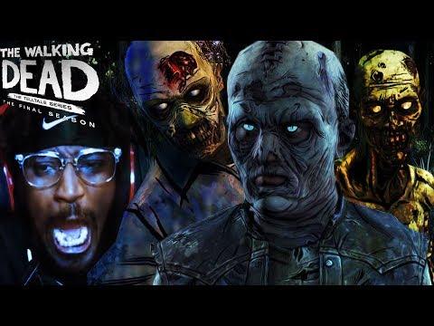 WALKING WITH THE WALKERS | THE WALKING DEAD Game Season 4 EPISODE 3 Gameplay Full Walkthrough