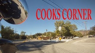 Ride to Cook's Corner. Trabuco Canyon CA